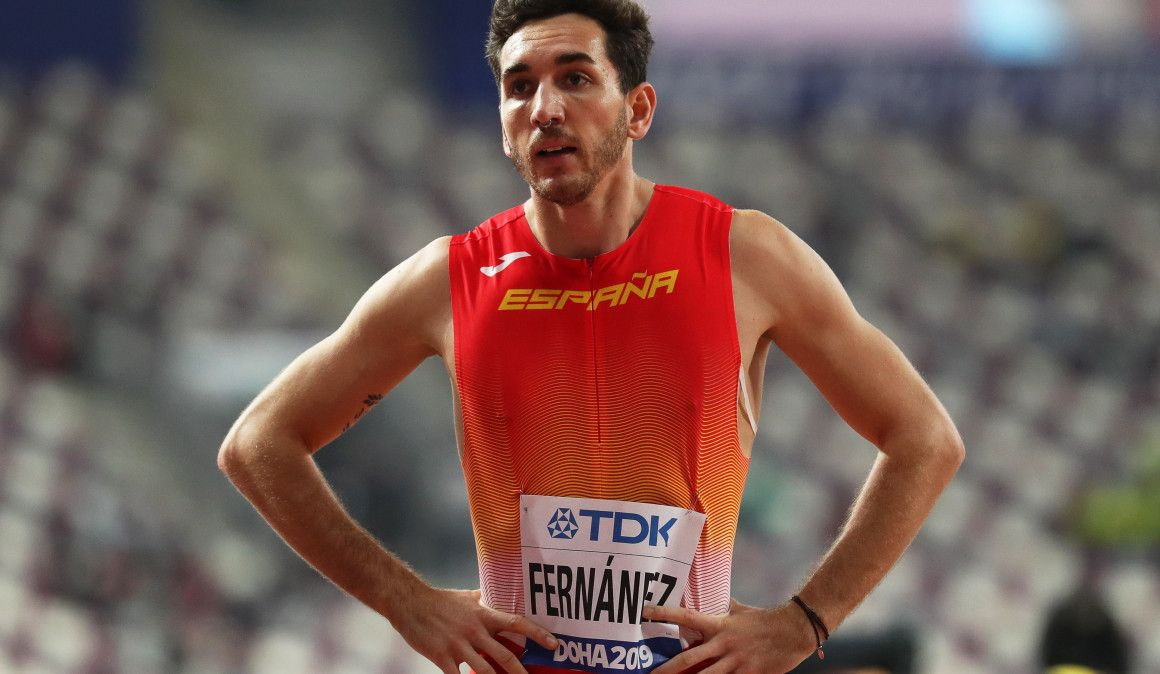 """Sergio Fernández: """"Quizá tengo que quitarle un poco de ganas a mi cuerpo"""""""