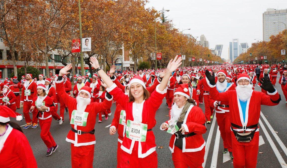 ¡La Carrera de Papa Noel se estrena en Barcelona!
