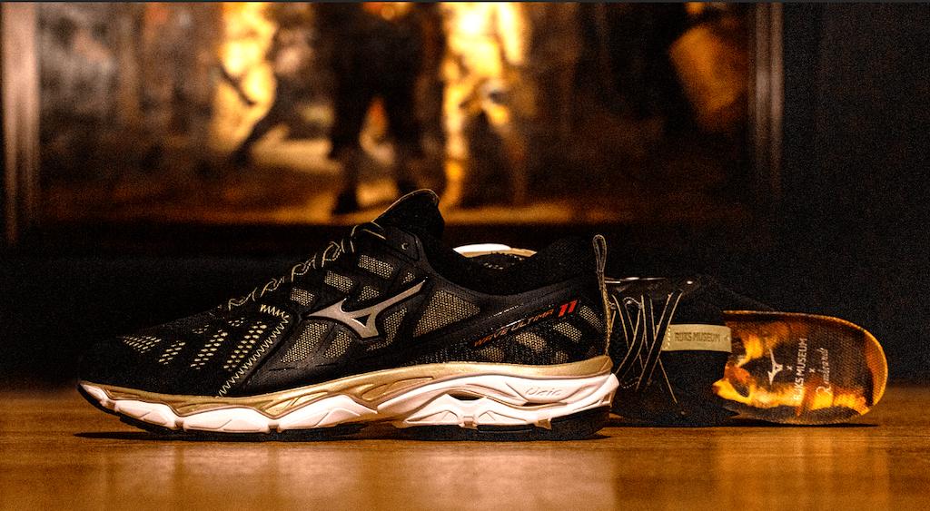 La zapatilla que es una obra de arte: Mizuno Wave Ultima 11 Amsterdam