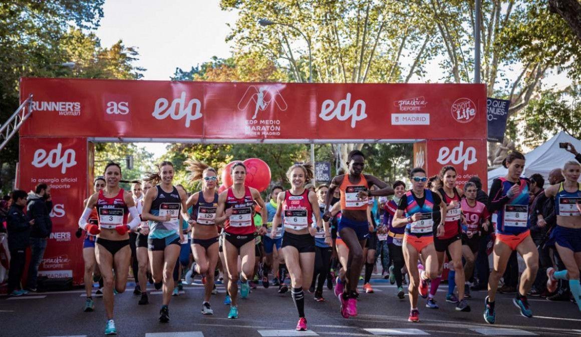 Nuevo recorrido del EDP Medio Maratón de la Mujer