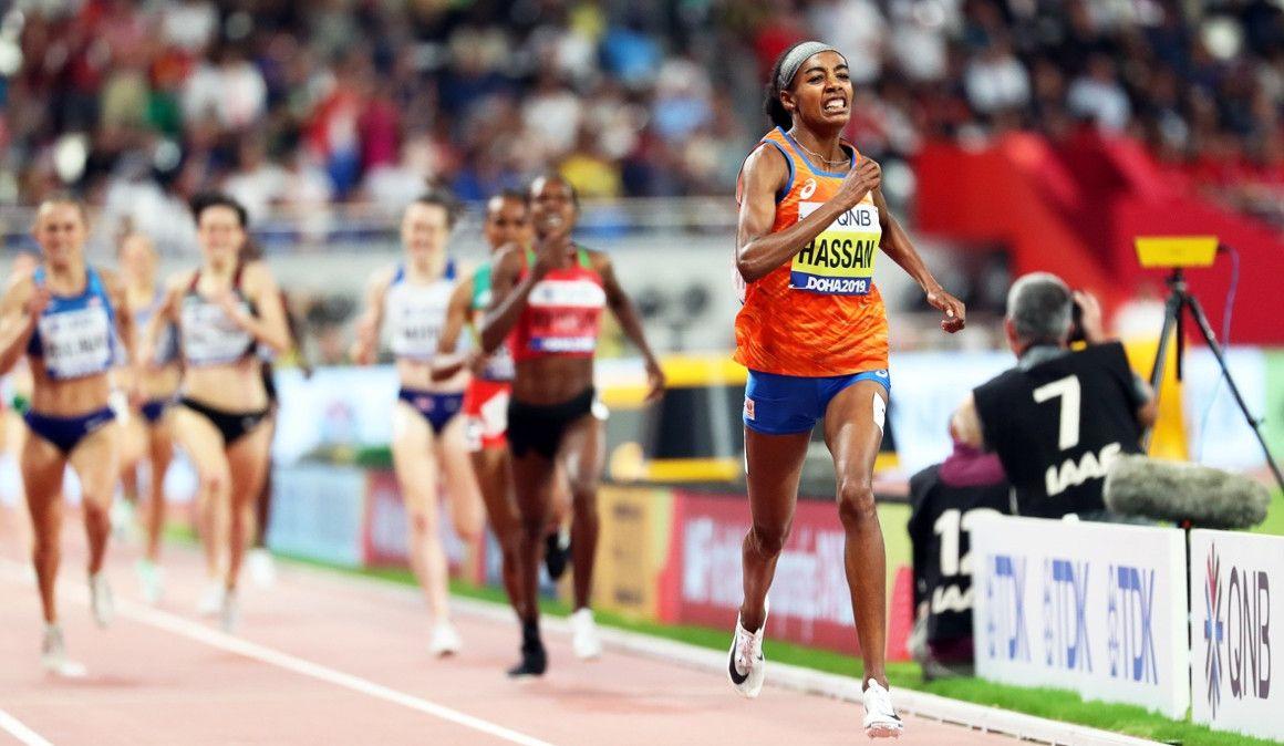 Hassan lidera el mejor 1.500 femenino de la historia