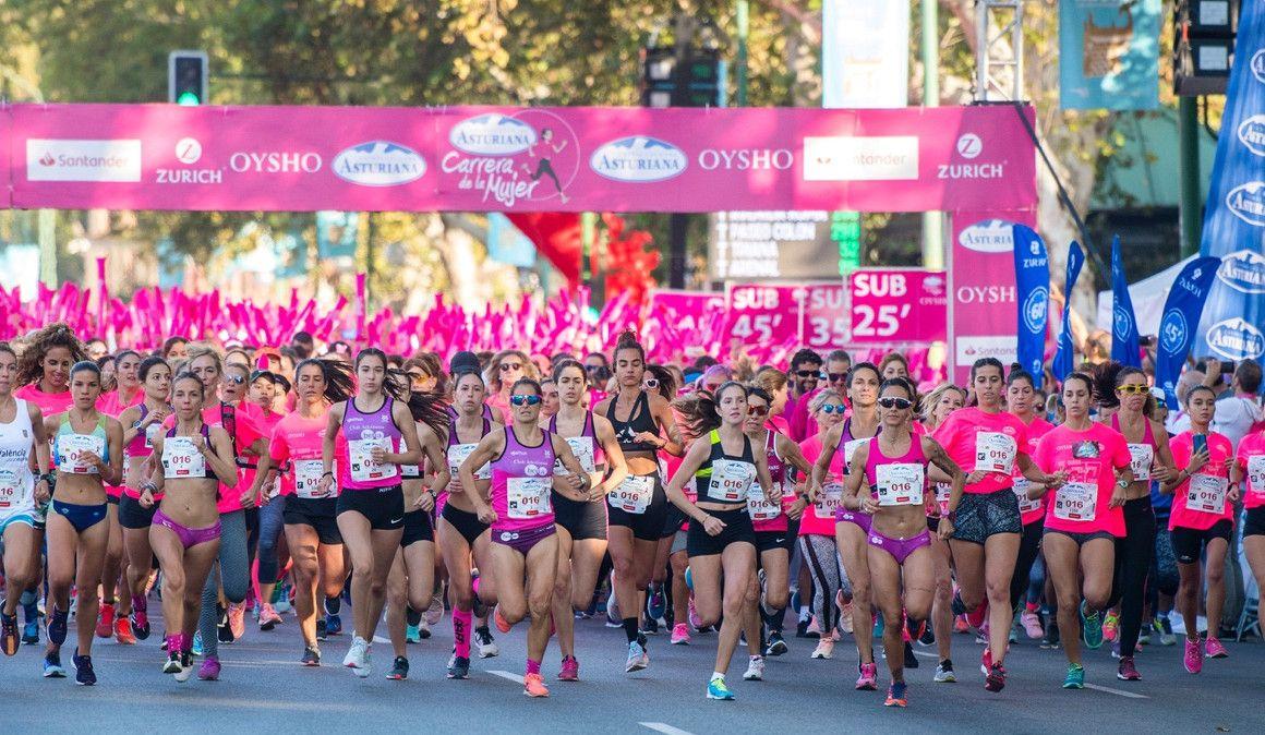 Carolina Robles gana la Carrera de la Mujer de Sevilla
