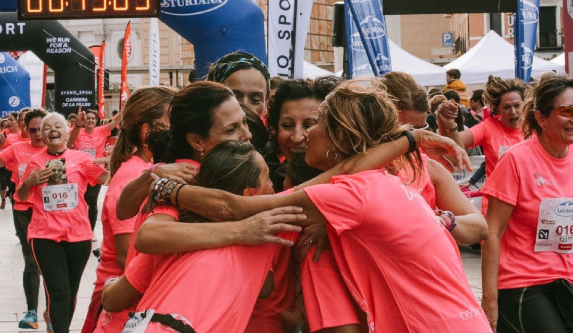 Las mejores fotos de la Carrera de la Mujer de Zaragoza