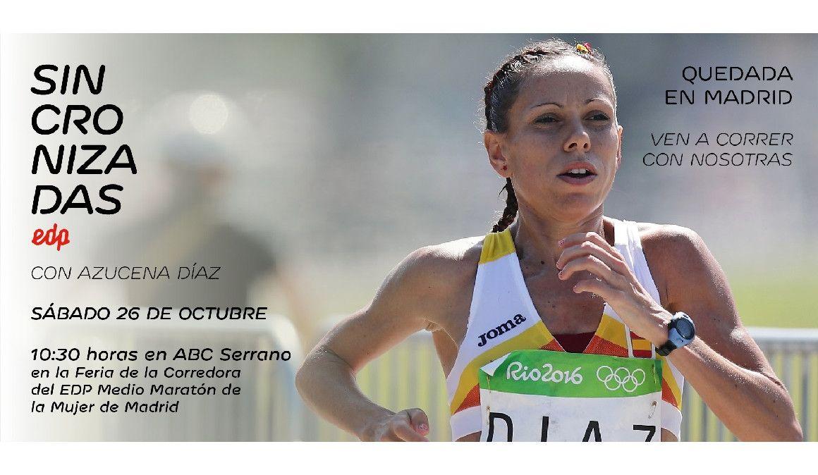 Sincronizadas organiza un entrenamiento en Madrid con Azucena Díaz
