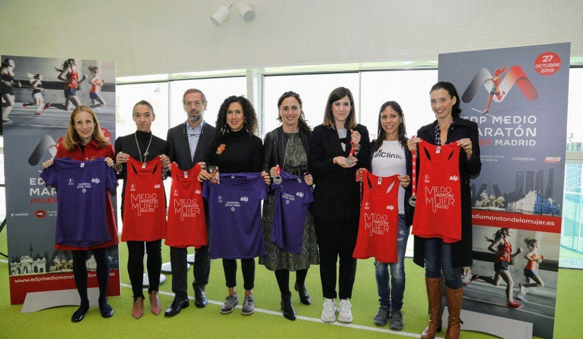 Presentada la cuarta edición del EDP Medio Maratón de la Mujer