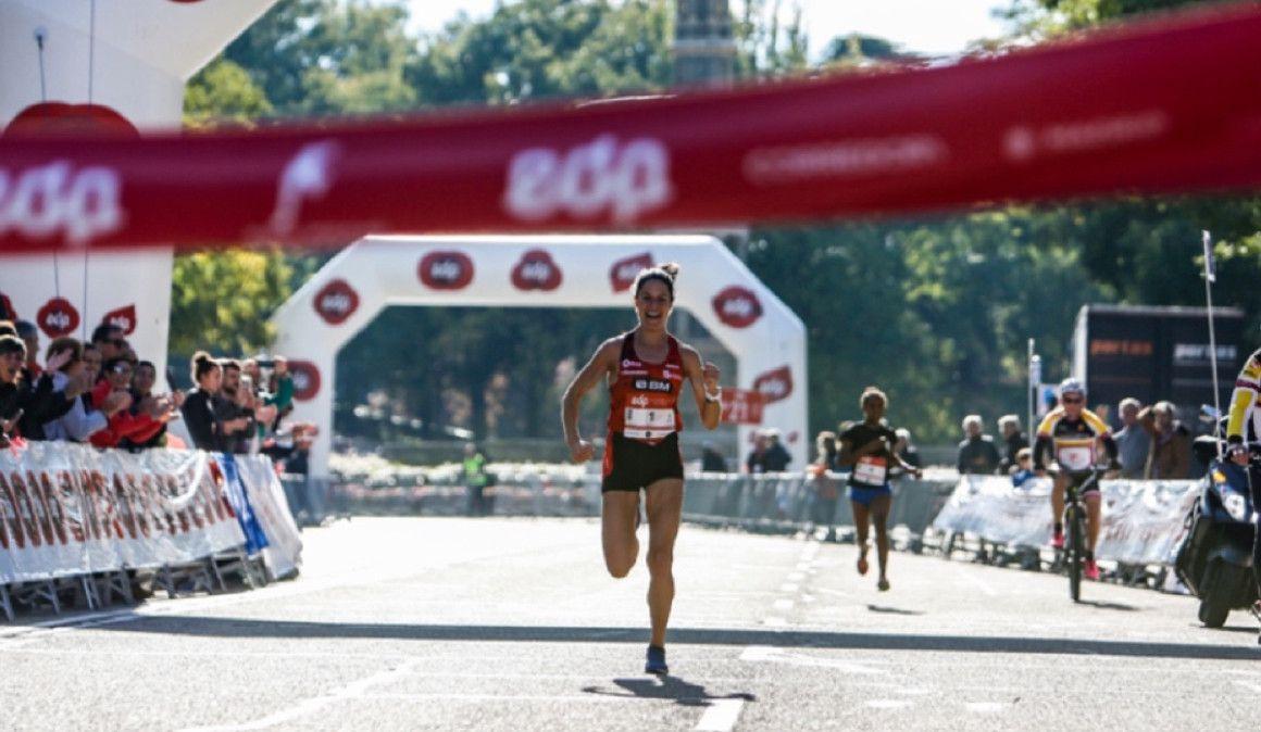 Elena Loyo triunfa en el EDP Medio Maratón de la Mujer