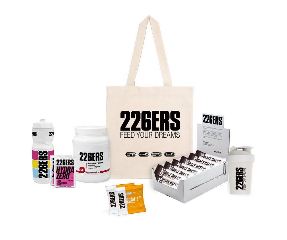Consigue este fantástico pack de productos de nutrición deportiva 226ERS