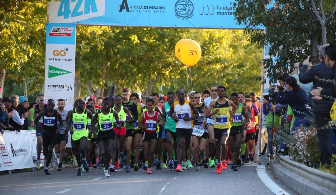 Nuevo récord del Maratón Internacional de Alcalá de Henares