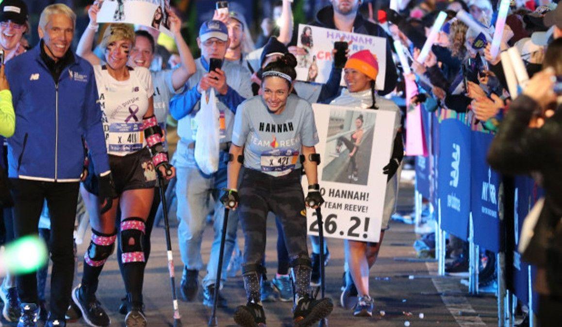 La historia de superación de la última clasificada del Maratón de Nueva York