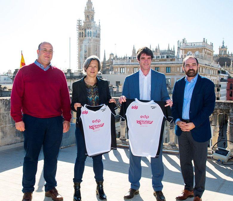 La nueva camiseta Brooks del EDP Medio Maratón de Sevilla