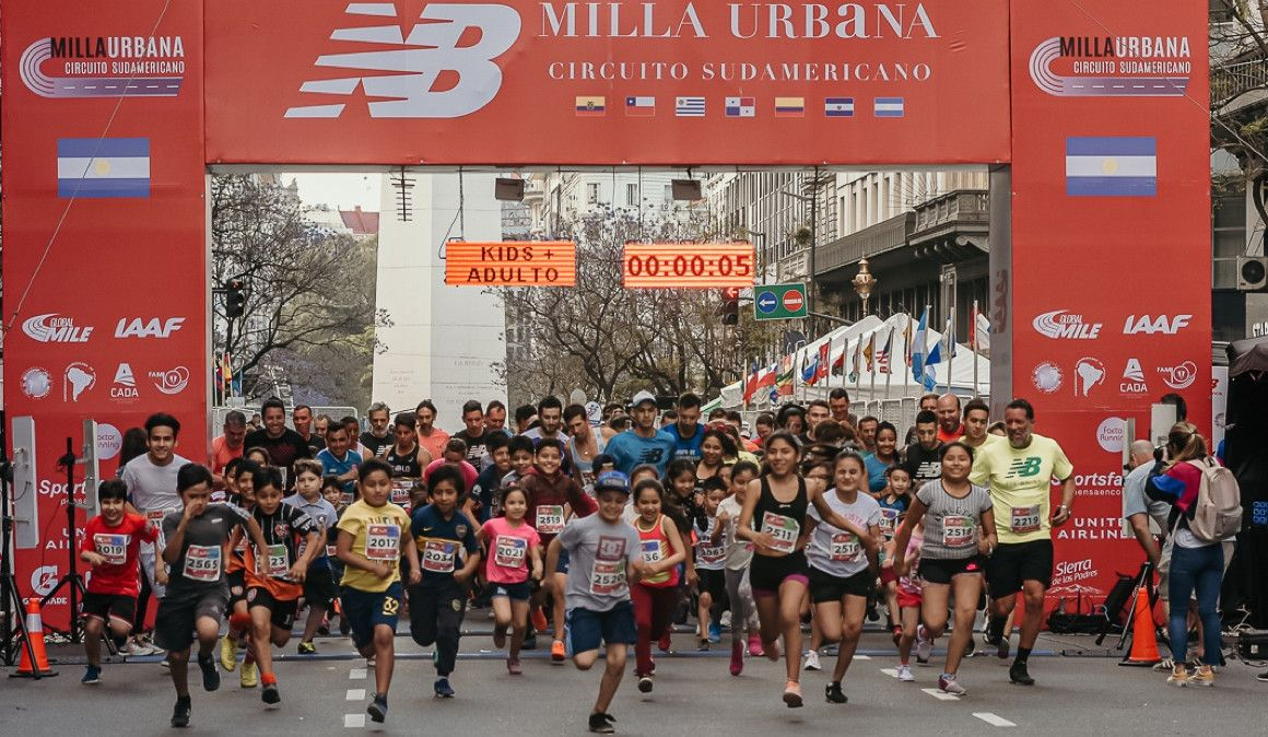 La NB Milla Urbana abarrota las calles de Buenos Aires