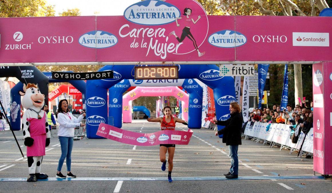 Gema Barrachina gana la Carrera de la Mujer de Barcelona por delante de 36.000 corredoras