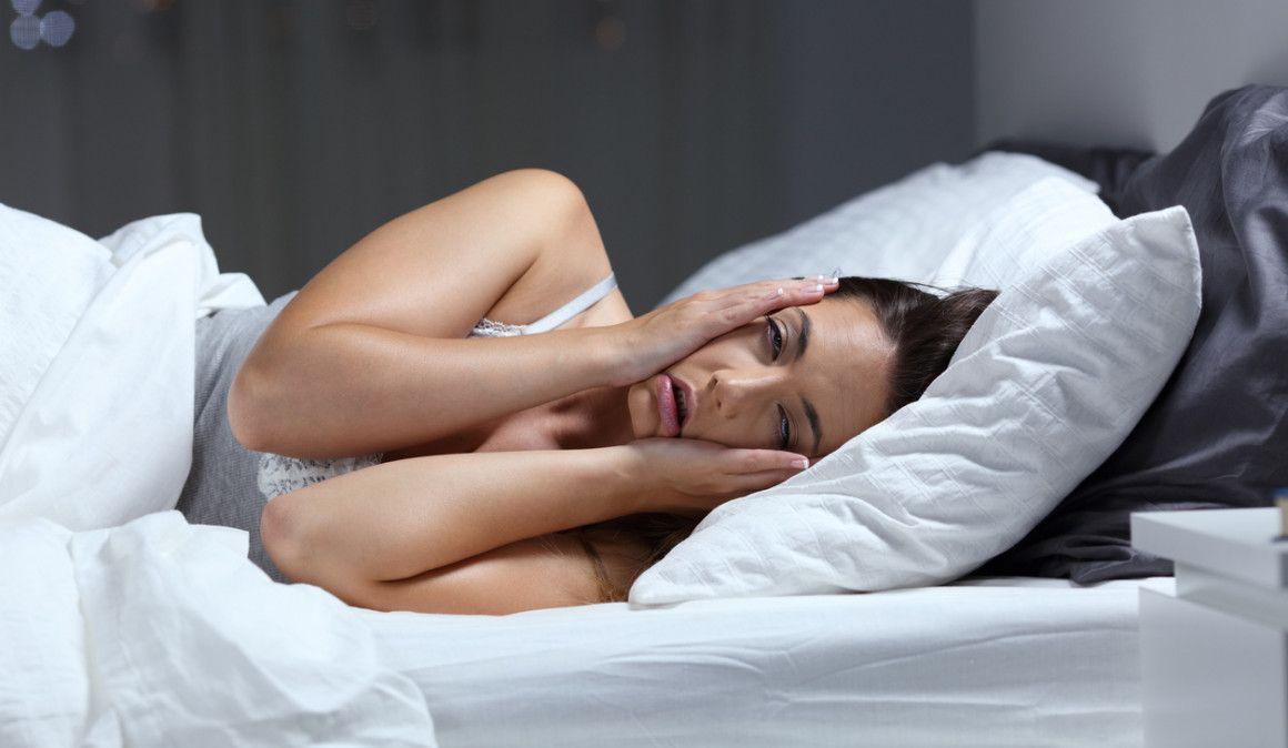 ¿Sufres insomnio? No está sola