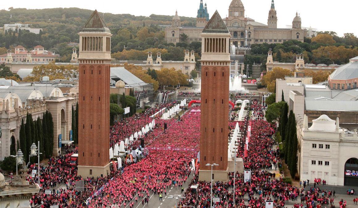 Todas las fotos de la Carrera de la Mujer de Barcelona