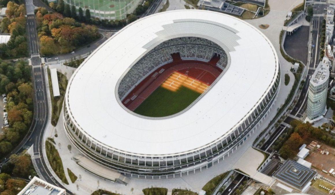 El Estadio Olímpico de Tokio 2020 ya está acabado