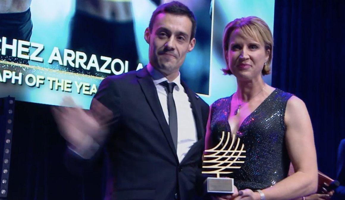 Félix Sánchez, de nuevo mejor foto del año