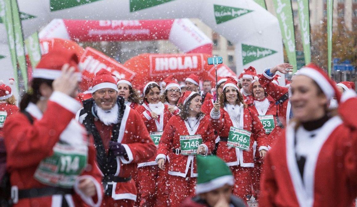 Últimos días para apuntarte a la Carrera Papa Noel a precio de oferta