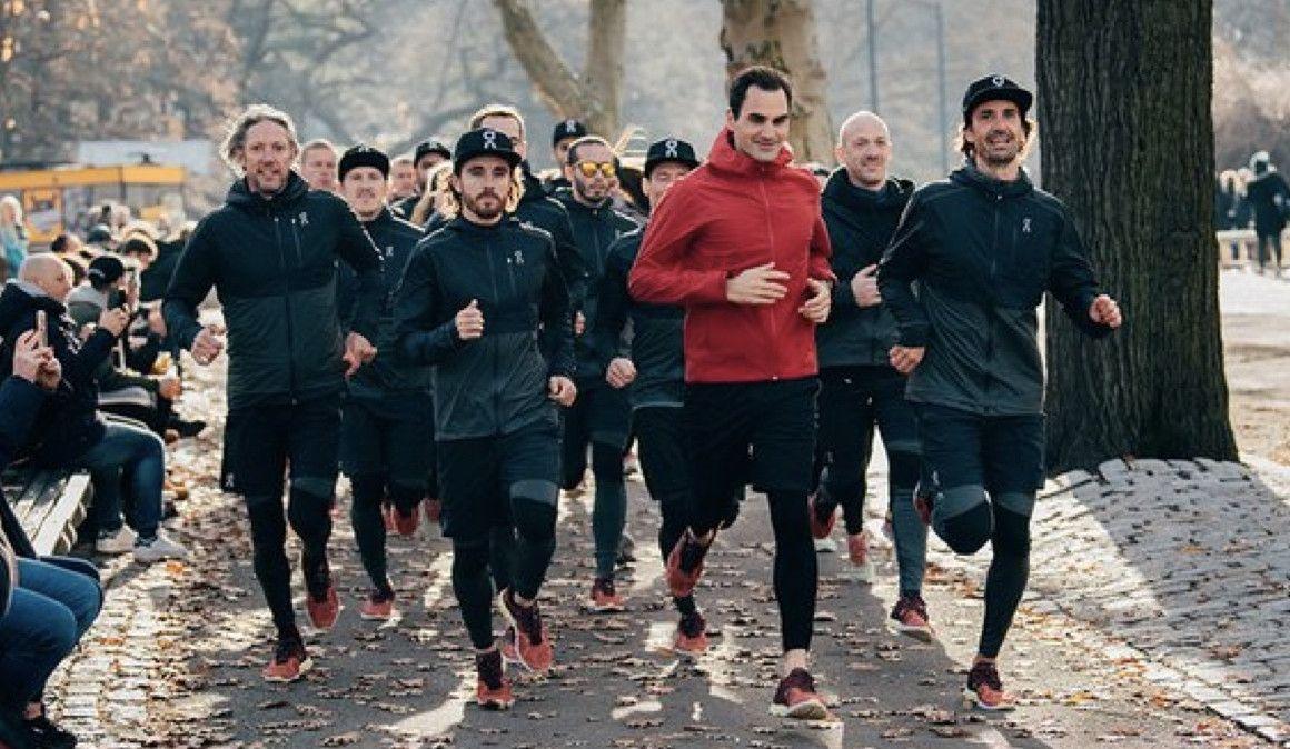 El tenista Roger Federer calzará zapatillas On Running