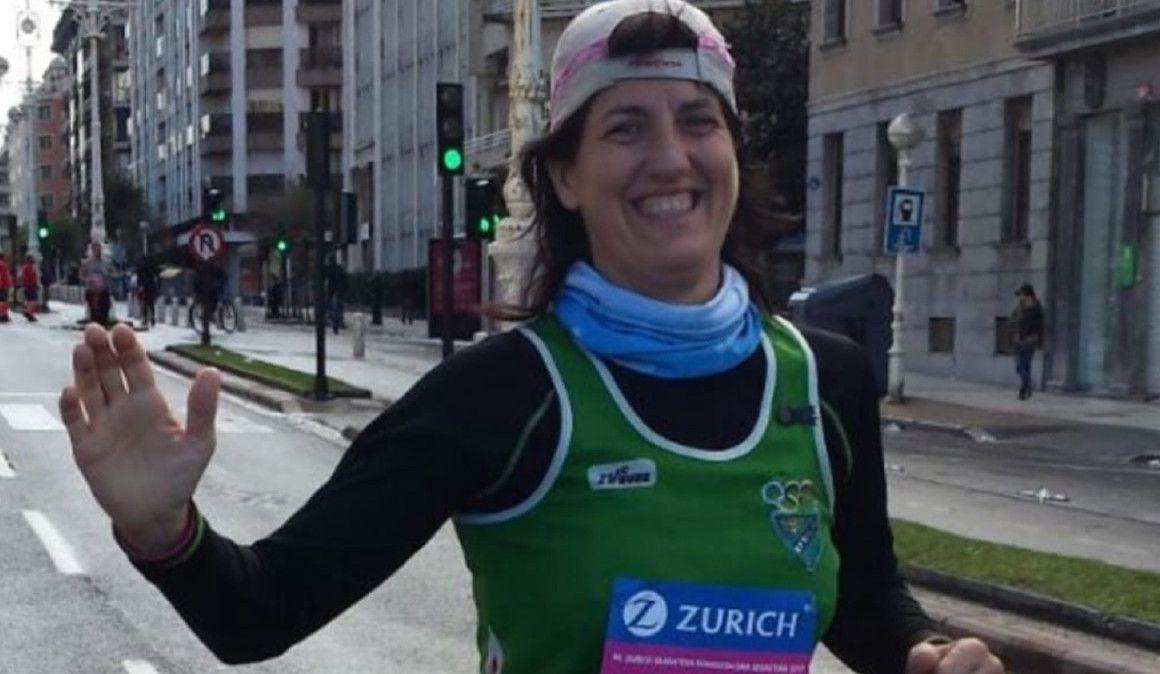 La mujer de los 100 maratones