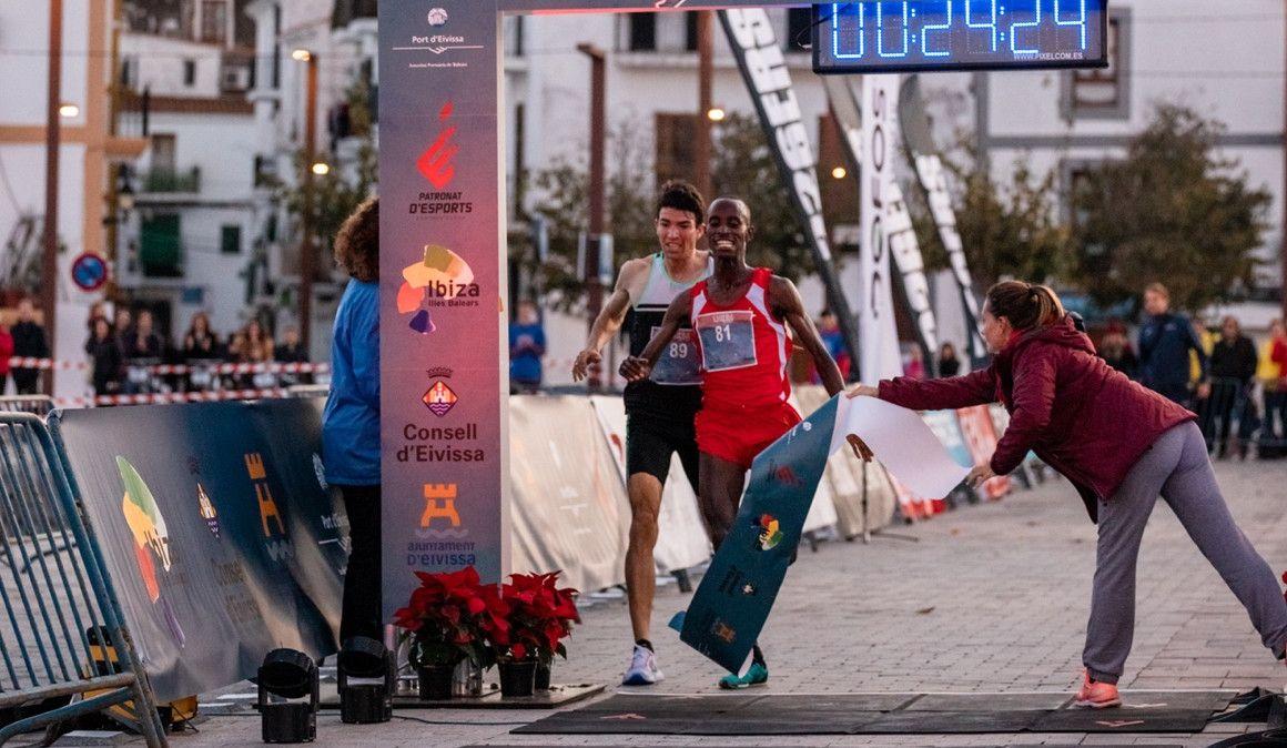 Marta Pérez y Rodrigue Kwizera ganan en Ibiza