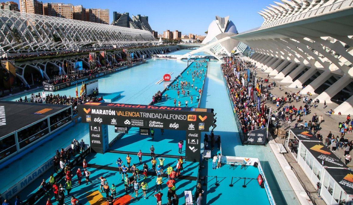 Abiertas las inscripciones para el Maratón de Valencia 2020