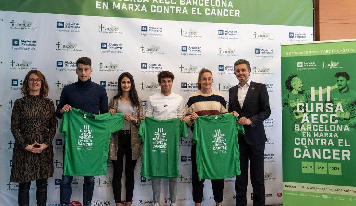 Presentada la Carrera contra el cáncer de este domingo en Barcelona