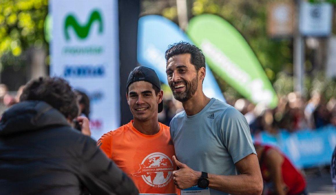 No fue el día para Arbeloa en el Maratón de Valencia