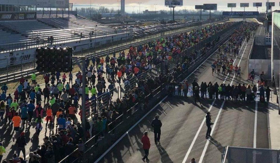 Cuarta edición de la Carrera solidaria Maria de Villota en el Jarama