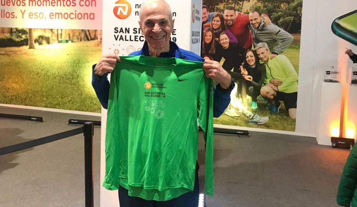 Uno de los fundadores del Maratón de Nueva York, correrá la Vallecana con 85 años