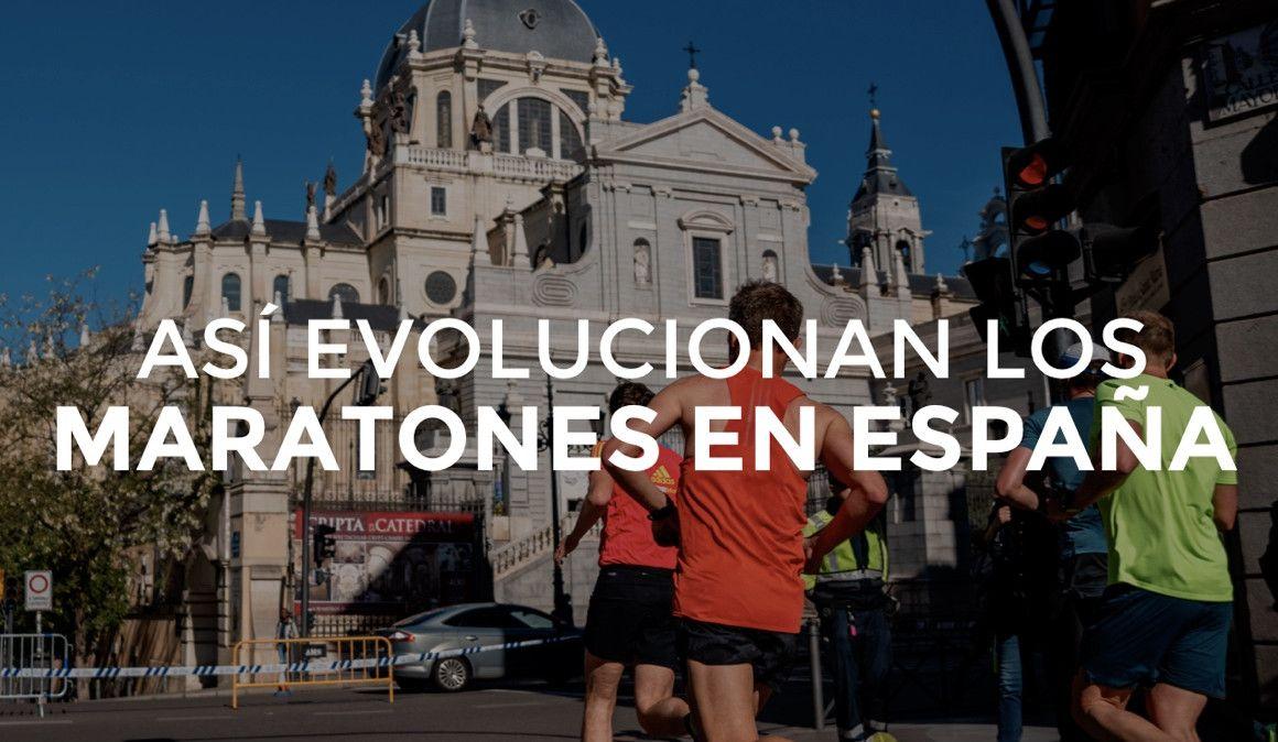 La evolución de los maratones españoles