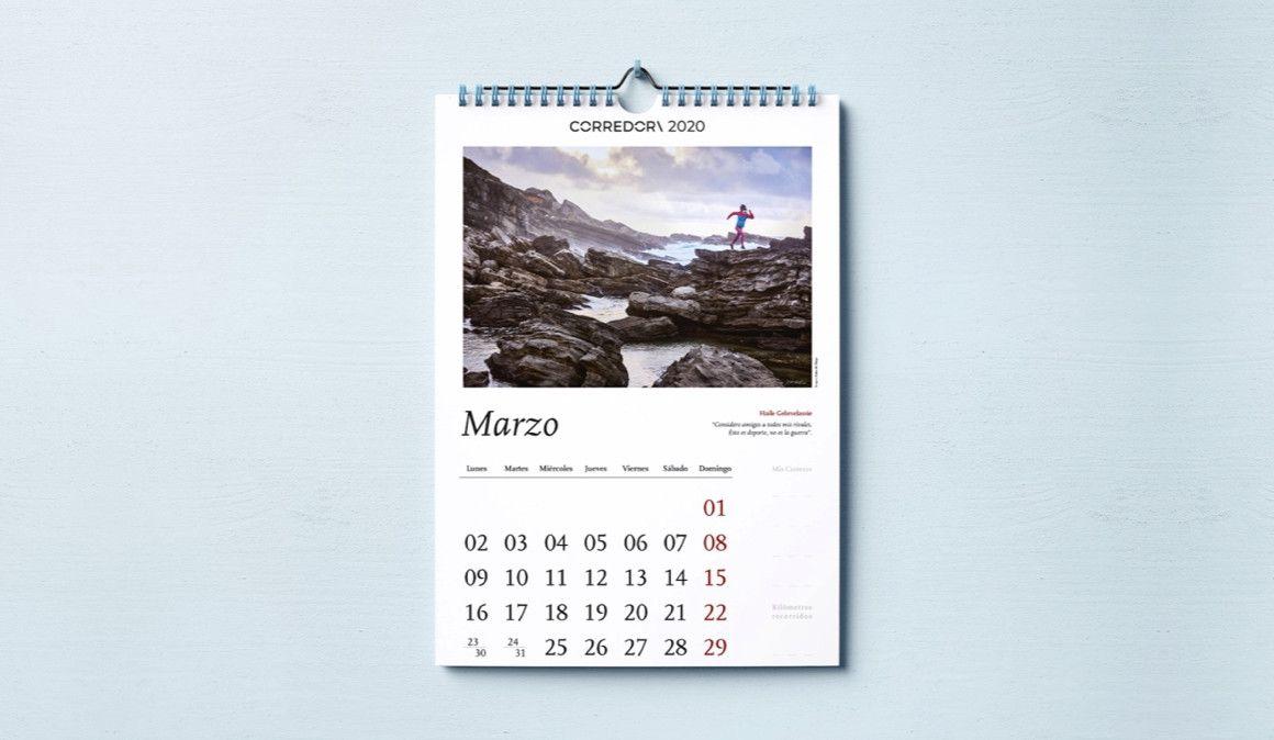 Consigue el calendario CORREDOR\ con el último número de la revista