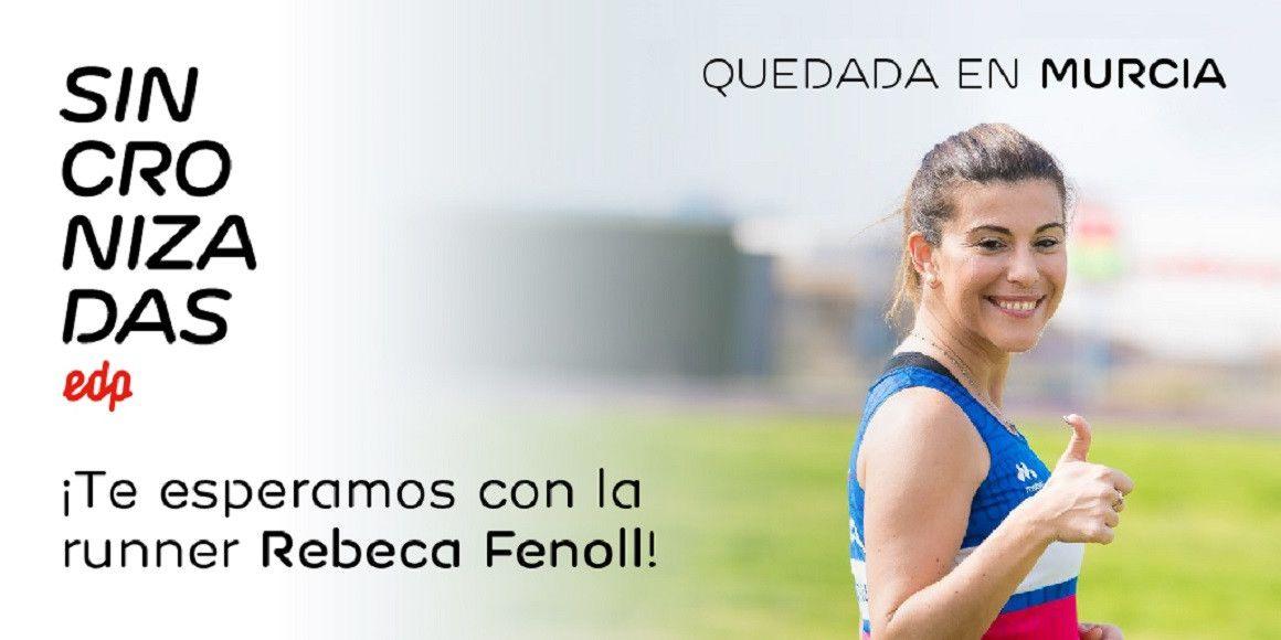 Sincronizadas organiza una quedada en Murcia con la corredora Rebeca Fenoll