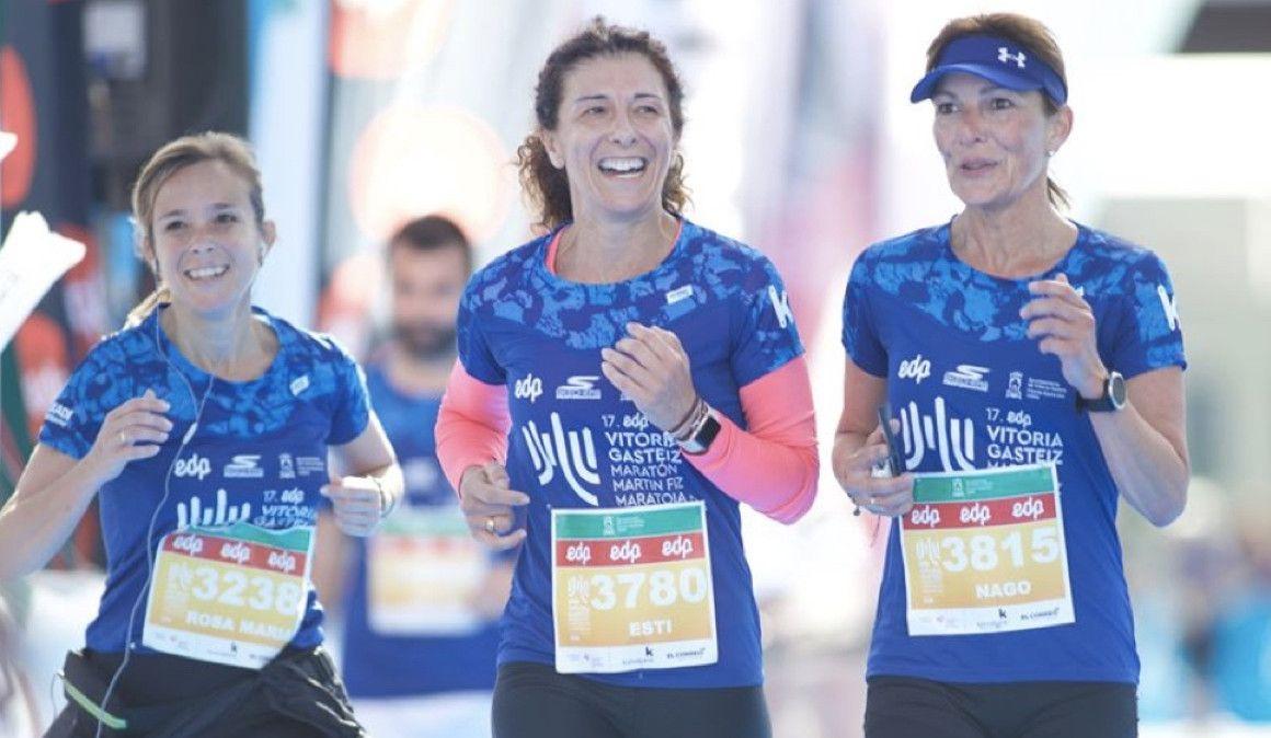 6 ventajas de participar como equipo en el Maratón de Vitoria