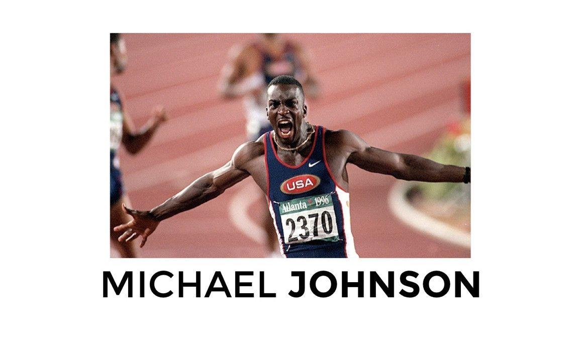 Es leyenda: Michael Johnson