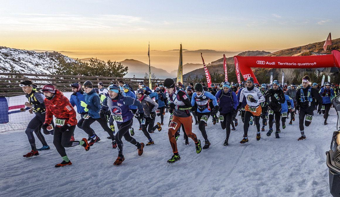 Éxito de Snow Running Sierra Nevada 2020