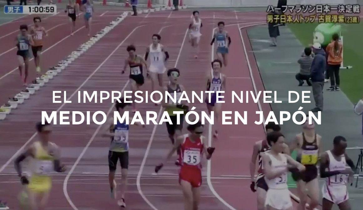86 atletas bajan de 1h04 en el nacional de medio maratón en Japón