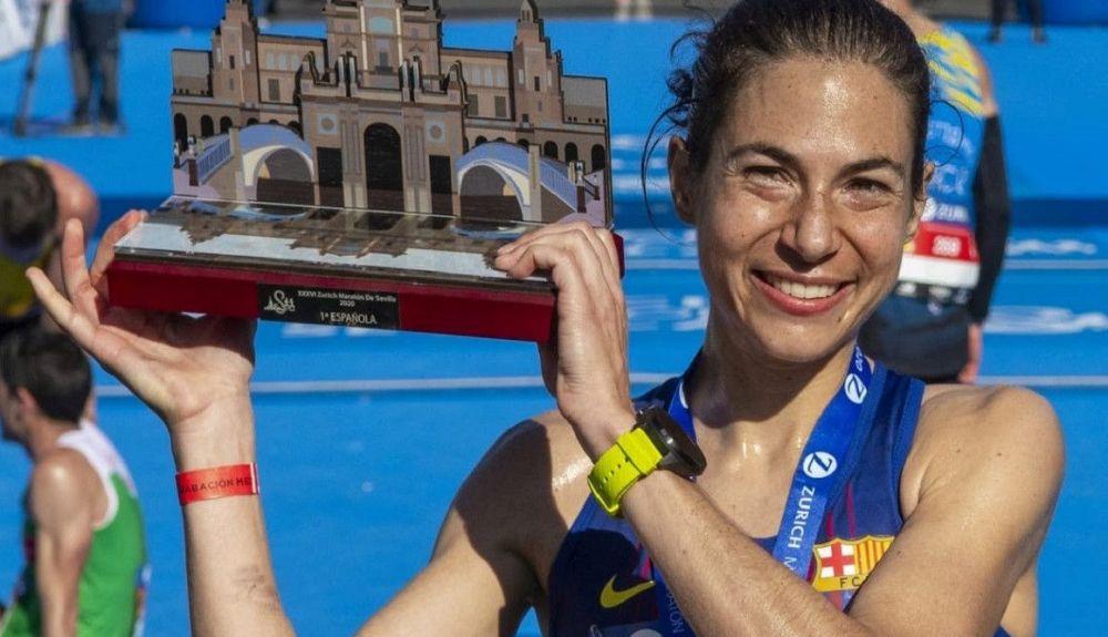 Marta Galimany en el Zurich Maratón de Sevilla. Foto: JJ Úbeda