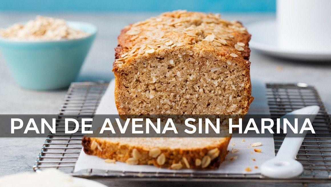 Pan De Avena Sin Harina